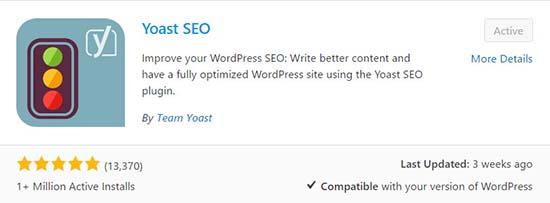 YOAST WordPress plugin seo tool