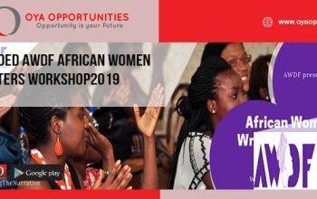 Apply: African Women Writer Workshop 2019