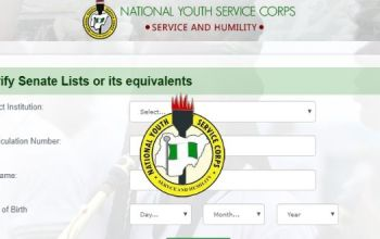 How To Check NYSC Batch C Senate Approved List
