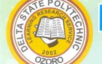 Delta State Polytechnic Ozoro (DSPZ) ND Admission Form for 2019/2020 And Registration Guide