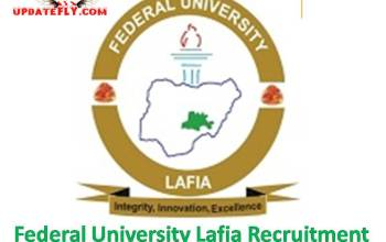 Apply For Federal University Lafia Remedial/Pre-degree Admission Form 2019