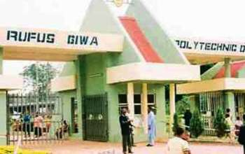 Rufus Giwa Polytechnic Post UTME 2019/2020 Application Details