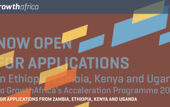 Apply For GrowthAfrica Accelerator Program  2020