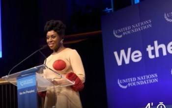 Chimamanda Ngozi Adichie Receives UN Global Leadership Award