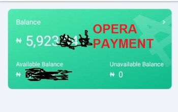 Opera News Payment Received (How to Check)