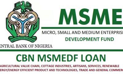 Apply for CBN MSME Development Fund N220 Billion Loan For Start-up
