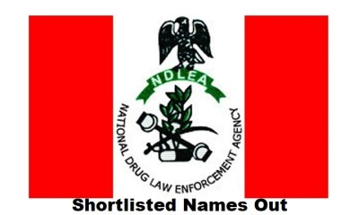 NDLEA Final Shortlisted Candidates 2020/2021 Released - Download List in PDF