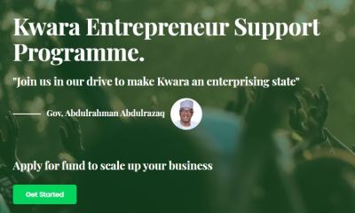 Apply for Kwara State Kwapreneur Loan 2021 (Get Upto 3Million - Go to application Portal kwapreneur.com
