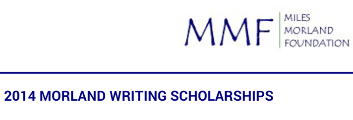 Apply For: Miles Morland Foundation Scholarship For Writers 2021 £18,000 2