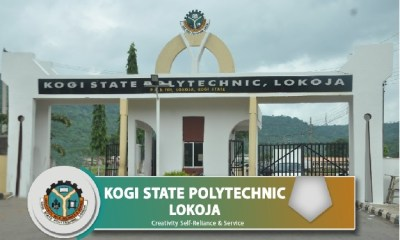 Kogi State Polytechnic (KSP) Post UTME Form for 2021/2022 Academic Session   ND Full-Time 5