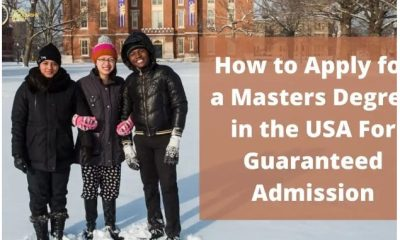 Masters Degree in the USA