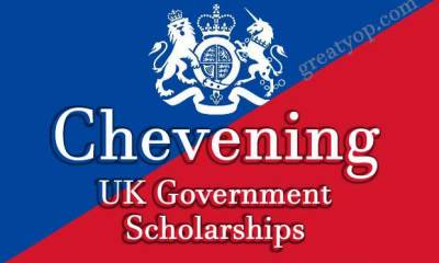 Chevening UK Government Scholarship Programme 2022/2023 | Fully Funded to Study in UK 1
