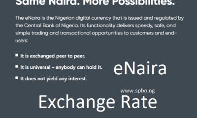 eNaira Price exchange rate Today October 2021