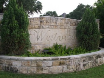 Westview on Lake Austin sign