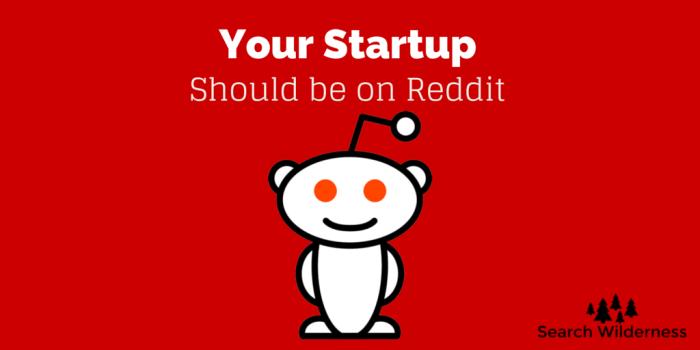 header image: your startup should be marketing on reddit