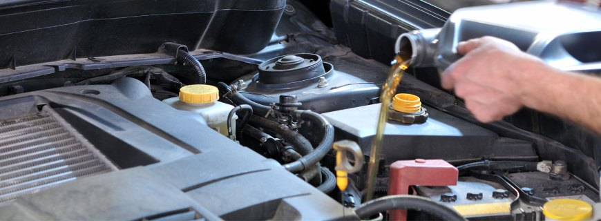 Victoria oil change service at Searles Auto