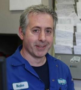 Service advisor & Victoria mechanic at Searles Auto Repair - Blake Miller