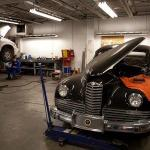 Classic car mechanic at Searles Auto Repair