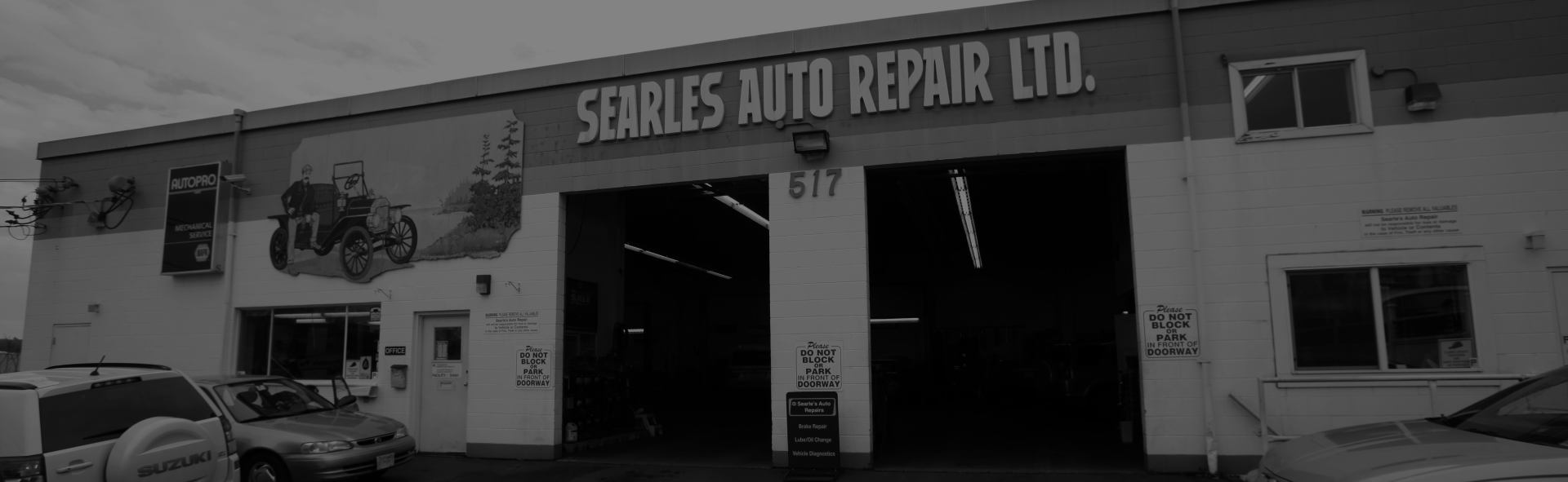 Searles Auto Repair Outside SLider