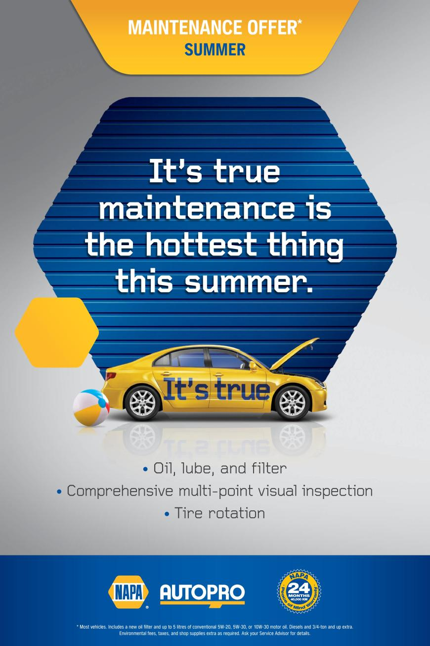Seales Auto Maintenance Summer offer