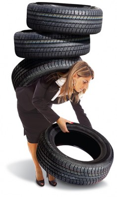 Seasonal Tire Storage at Searles Auto Repair