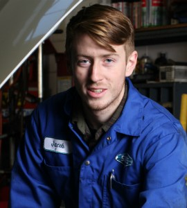 Jacob - apprentice mechanic in Victoria