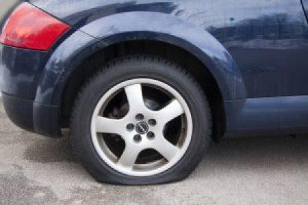 flat tire victoria