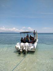 Parked at Menjangan Island