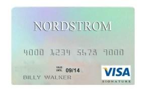 nordstrom credit card benefits