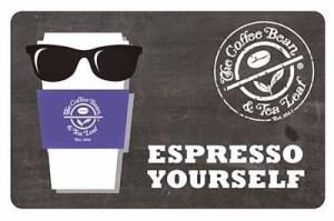 Coffee Bean & Tea Leaf Gift Card Balance