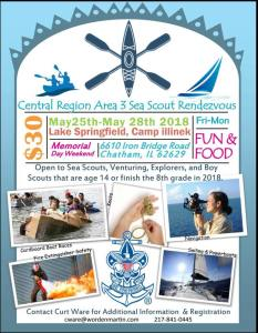 Area 3 Sea Scout Rendezvous