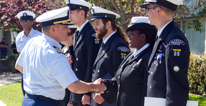 Sea Fox of Alameda Honored by the Coast Guard and Boy Scouts