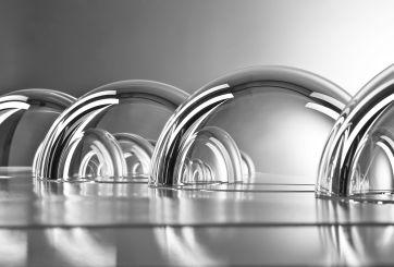 Nautilus Glass Spheres