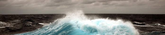 Blue Wave Black Ocean