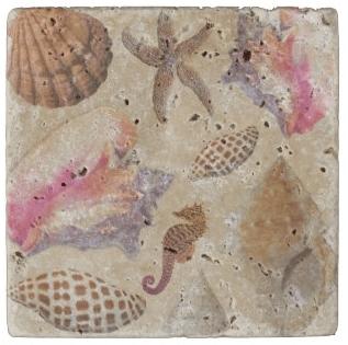 travertine stone coaster