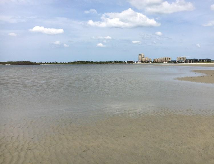 shallow ocean water shoreline