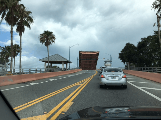 bridge up at north causeway