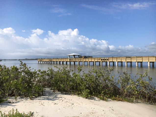 new fishing pier