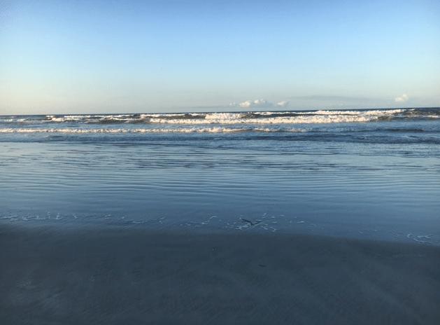 ocean waves beach
