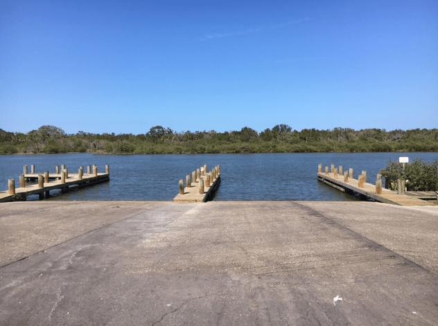 Riverbreeze boat ramp