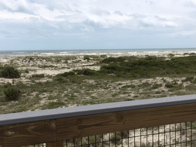 ocean view from boardwalk