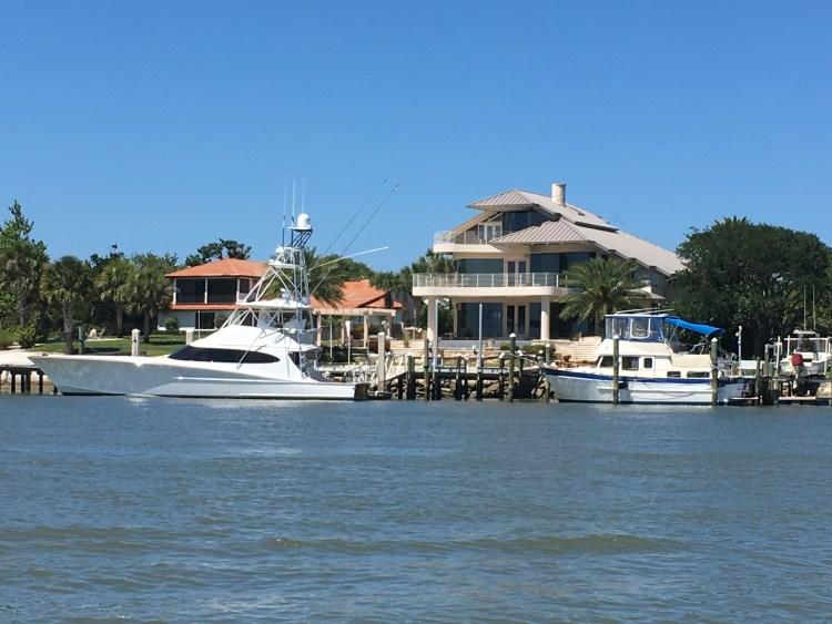 big homes yachts ICW