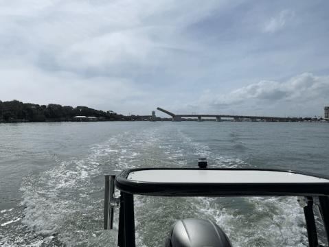 north causeway bridge opening