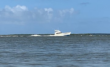 Yacht on the ICW