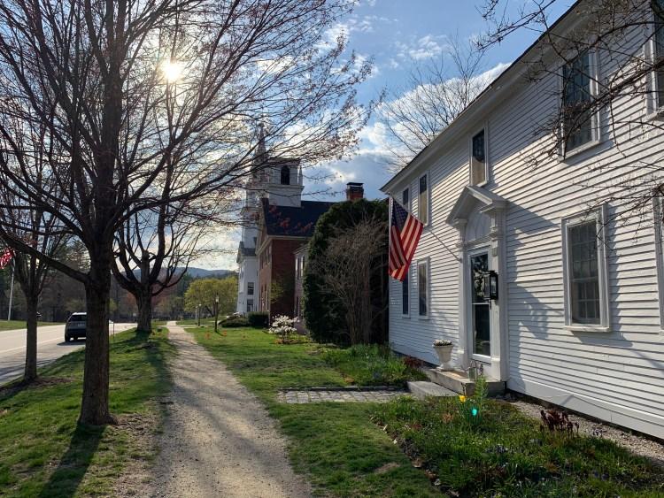 Hancock New Hampshire quaint town