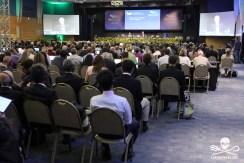 FLORIANOPOLIS, SC, 10.09.2018 - EVENTO - plenaria de abertura da 67ª reunião anual de Membros da IWC (International Whaling Commission) em florianopolis brasil na tarde desta segunda-feira 10. (Foto: Naian Meneghetti/Brazil Photo Press/Folhapress)