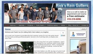 Ricks Raingutters Contractor