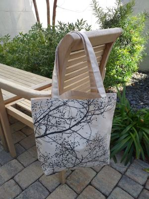 AFT823 100 Cotton Canvas Silk Screened Handy Tote