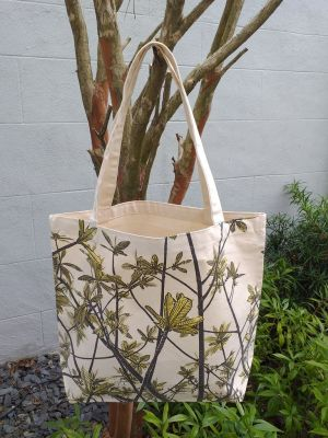 AFT905G Classic Tote Natural Photos Silk Screen