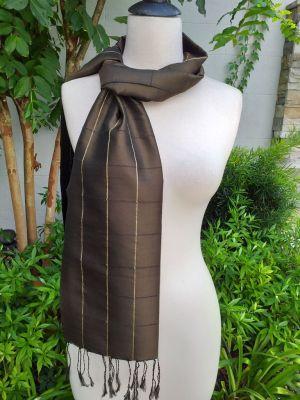 CKS558d Thai 100 Silk Hand Woven Colorful Shawl